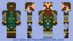Savvick - Dwarf Fighter Minecraft Skin