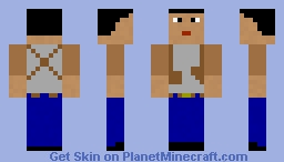 Nathan (Uncharted 3 Drake's deception) Minecraft Skin