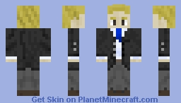 Suit Man of Supreme Cyberspace Minecraft Skin