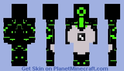 Ben 10 Upgrade (Classic series) Minecraft Skin