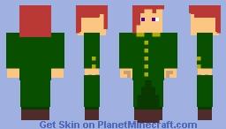 Noriaki Kakyoin Minecraft Skin