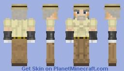 Old Joseph Joestar (JJBA Stardust Cursaders) Minecraft Skin