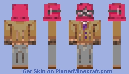 Scott Afton (Blueycapsules) Minecraft Skin