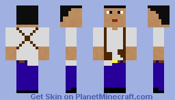 Nathan (Uncharted 1 Drake's fortune ) Minecraft Skin