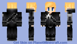 Hunter in Kiritos outfit Minecraft Skin
