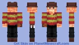 Freddy Kreuger - A Nightmare on Elm Street Minecraft Skin
