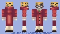 Joseph Joestar - very old (from JoJo's Bizarre Adventure: Diamond is Unbreakable) Minecraft Skin