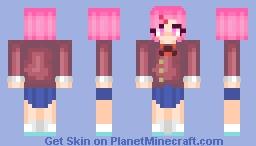 Natsuki Remake - 10/21/2020 Minecraft Skin