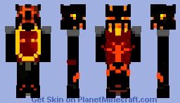 Nether King~ Grimlue Minecraft Skin