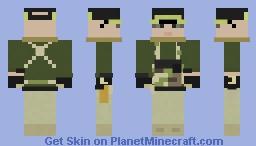 Portuguese Ranger Minecraft Skin