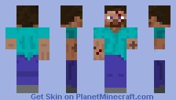 Damaged steve Minecraft Skin