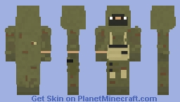 Ghillie Suit Minecraft Skin