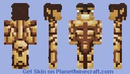 Eren Jaeger Titan ( Attack on Titan Anime) Minecraft Skin