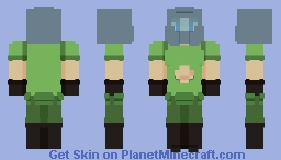 """ He said he didn't wanna die.. but then he did. "" [ DOOM ] Minecraft Skin"