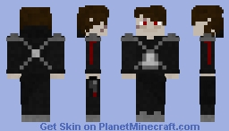 Darth Vexus (with lightsaber) Minecraft Skin