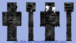 Shadow dweller Minecraft Skin