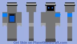 Errol the assitant robot Minecraft Skin