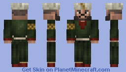 Emir Walid ibn Kitab the Wise Minecraft Skin