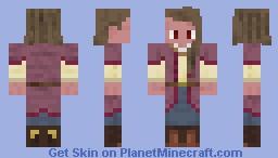 Cowgirl Farm Hand Minecraft Skin