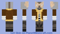 Ant-bot with drill hands Minecraft Skin