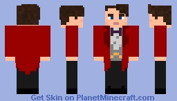 custom doctor who skin upgrade 2 Minecraft Skin