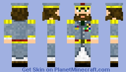 Supreme Leader Minecraft Skin