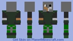 Plastic: Warrior Minecraft Skin