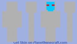 green dude space suit Minecraft Skin