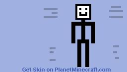 Speedy Stick Man Minecraft Skin
