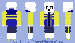 Outer!Sans Minecraft Skin