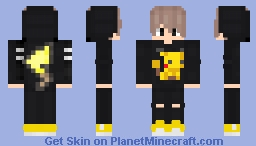 Pikachu Hoodie Minecraft Skin