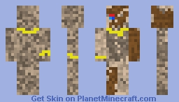 Dirty Mummy Minecraft Skin