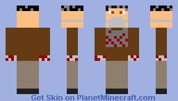 DR ZED Minecraft Skin