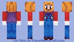 [MKT] Halloween Mario Minecraft Skin