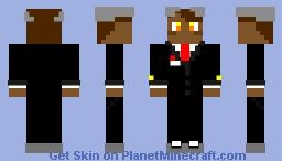 brown horn anime imposter Minecraft Skin