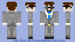 Suit in Sunglasses (java) Minecraft Skin