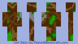 tree person Minecraft Skin