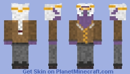 drow noble Minecraft Skin