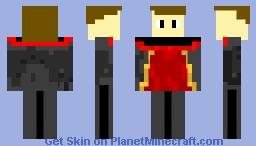 Golden Boy Minecraft Skin