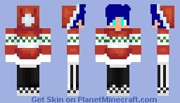 My Christmas skin (early) Minecraft Skin