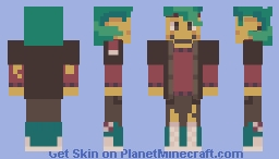 this is just my oc but i made her a skin. Minecraft Skin