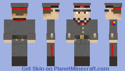 Nautican Line Infantry - Formal Uniform - Officers Minecraft Skin
