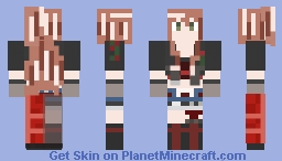 Steadfast Pride! Lisa Imai - Happy - Declaration of War Minecraft Skin