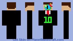 Erick Garza 10th PMC Birthday/Anniversary Minecraft Skin