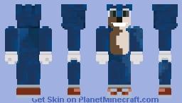 Sonic the Hedgehog ( 2020 Film ) -𝒢𝑜𝓉𝓉𝒶 𝑔𝑜 𝒻𝒶𝓈𝓉 Minecraft Skin