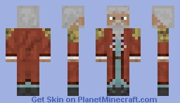 Wise Old Mage Minecraft Skin