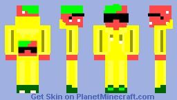 Elicorne ~ The Strawberry (fanskin) Minecraft Skin