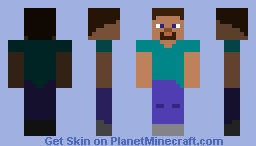 Mojang Steve! (ignore the preview) Minecraft Skin