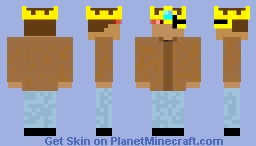 i have no idea what to call this Minecraft Skin