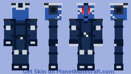 Reference From Henry Stickmin Minecraft Skin